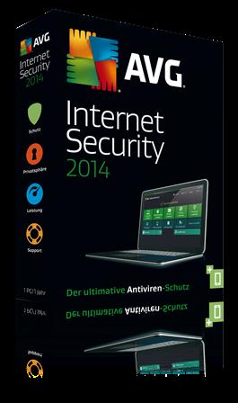 ... Schutz für den PC: Mit AVG AntiVirus und AVG Internet Security 2014