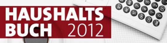 Haushaltsbuch 2012