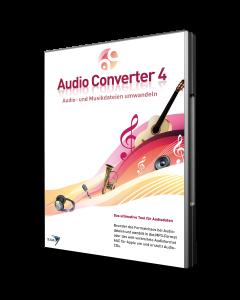 Audio Converter 4 - Audio- und Musikdateien umwandeln