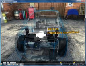 KfZ-Werkstatt Simulator_Motor Inspektion