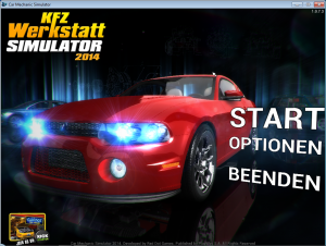 KfZ-Werkstatt Simulator_Start