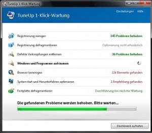 TuneUp Utilities 2014_1-Klick-Wartung_2