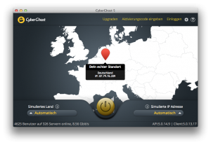 01.Startseite Cyberghost Mac
