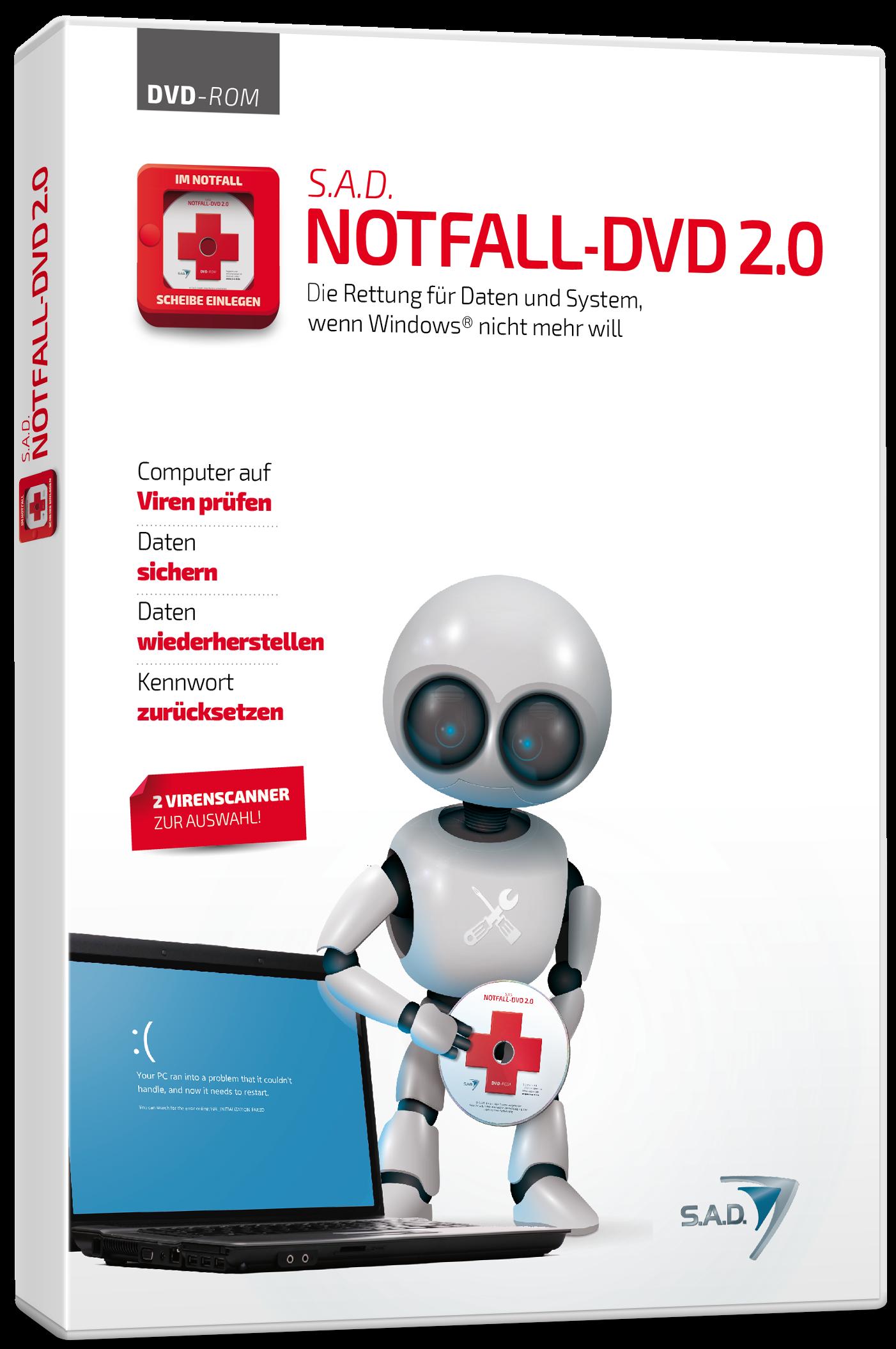 Packshot Notfall-DVD 2.0