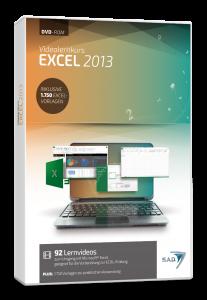 Packshot Videolernkurs Excel