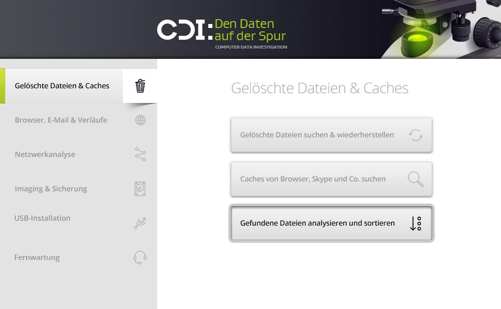 CDI - den Daten auf der Spur