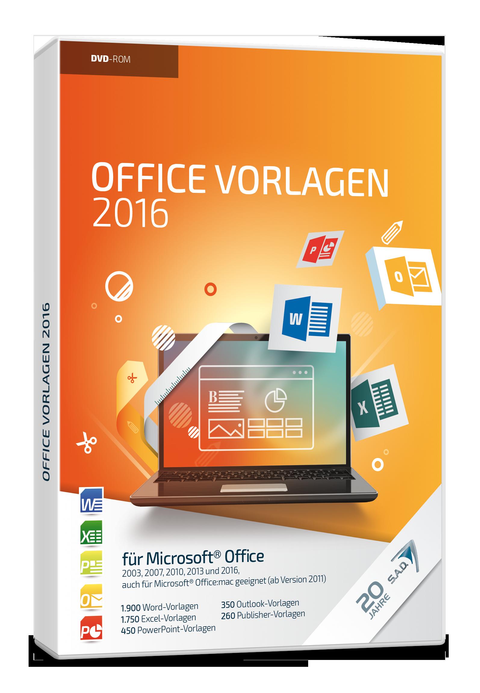 Benutzerfreundliche Vorlagen für Word, Excel und Co. › S.A.D. GmbH