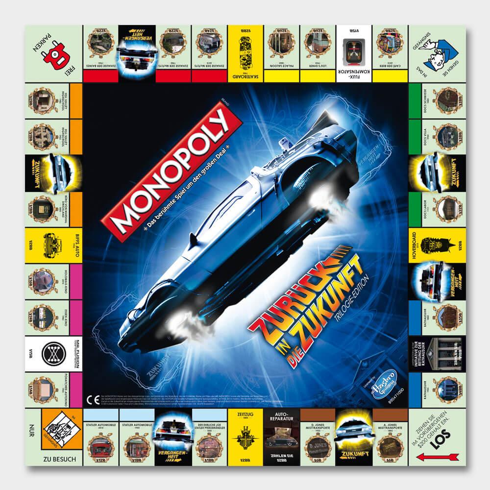 Monopoly Zurück In Die Zukunft Collector's Edition › S.A.D