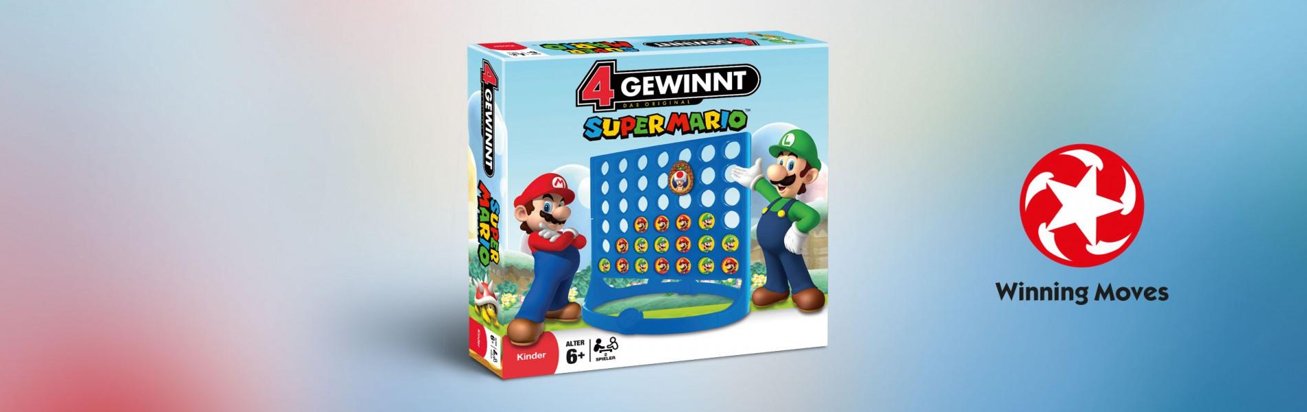 4 Gewinnt Super Mario