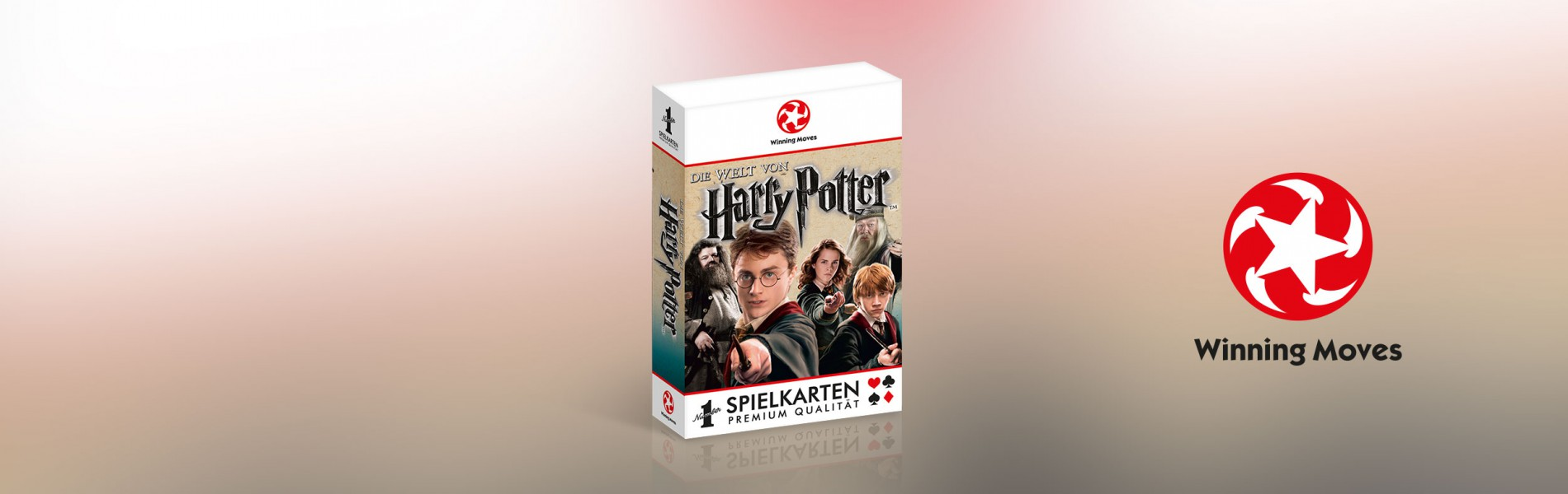 Number 1 Spielkarten Harry Potter