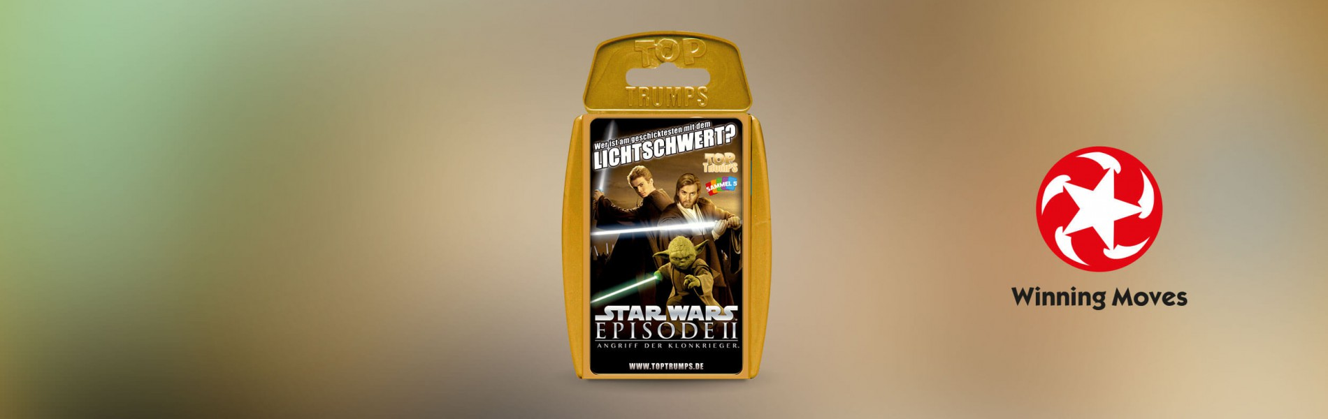 Top Trumps Star Wars Episode 2 – Angriff der Klonkrieger