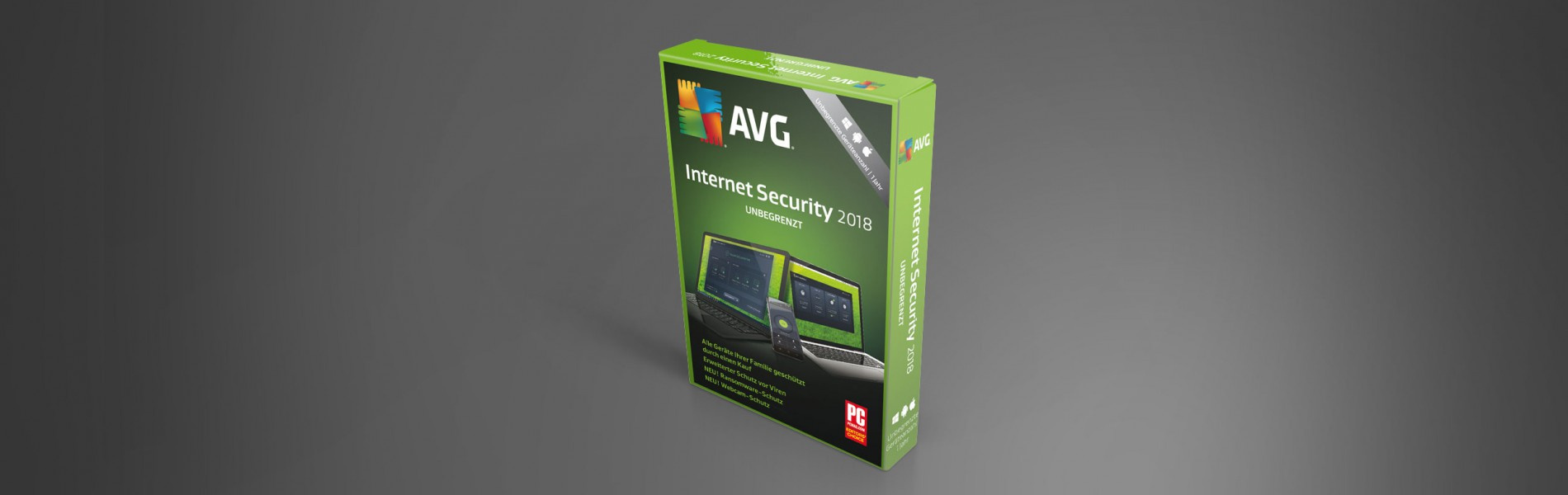 AVG Internet Security Unbegrenzt 2018