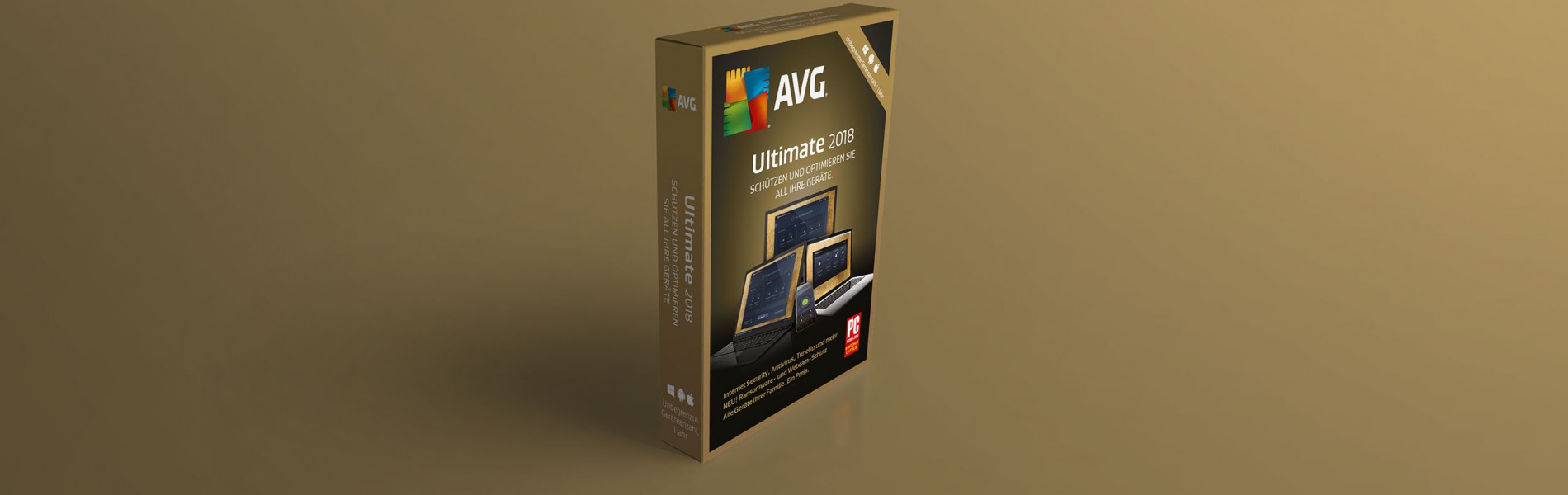 AVG Ultimate 2018 – unbegrenzte Geräte