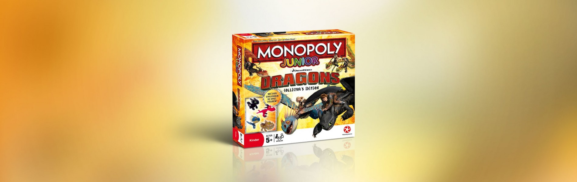 Monopoly Junior Dragons Collectors Edition