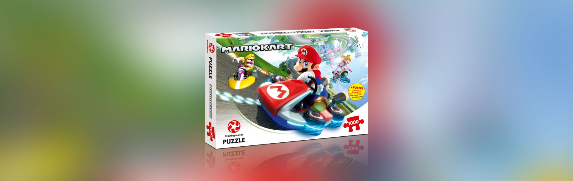 Puzzle Mario Kart – Funracer 1000 Teile