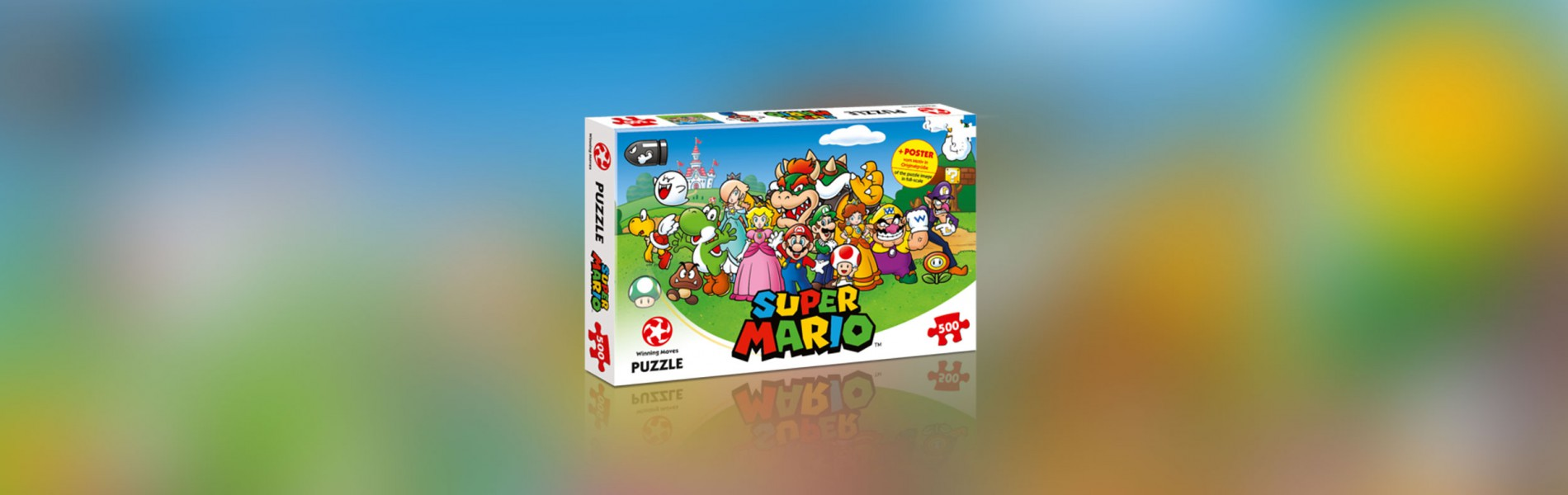 Puzzle Super Mario – Mario and Friends 500 Teile