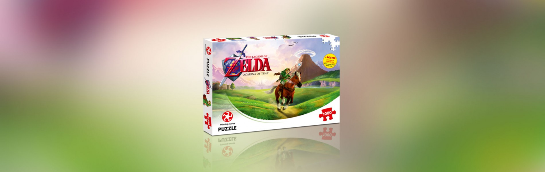 Puzzle The Legend of Zelda Ocarina of Time 1000 Teile