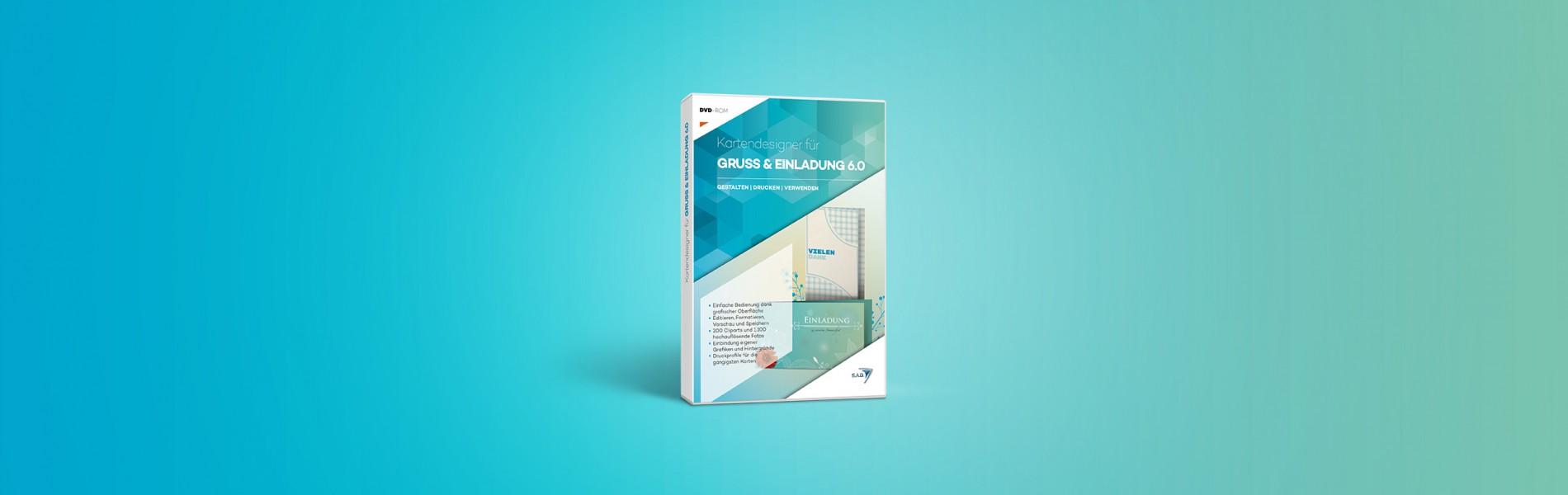 S.A.D. Kartendesigner für Gruß und Einladung 6.0