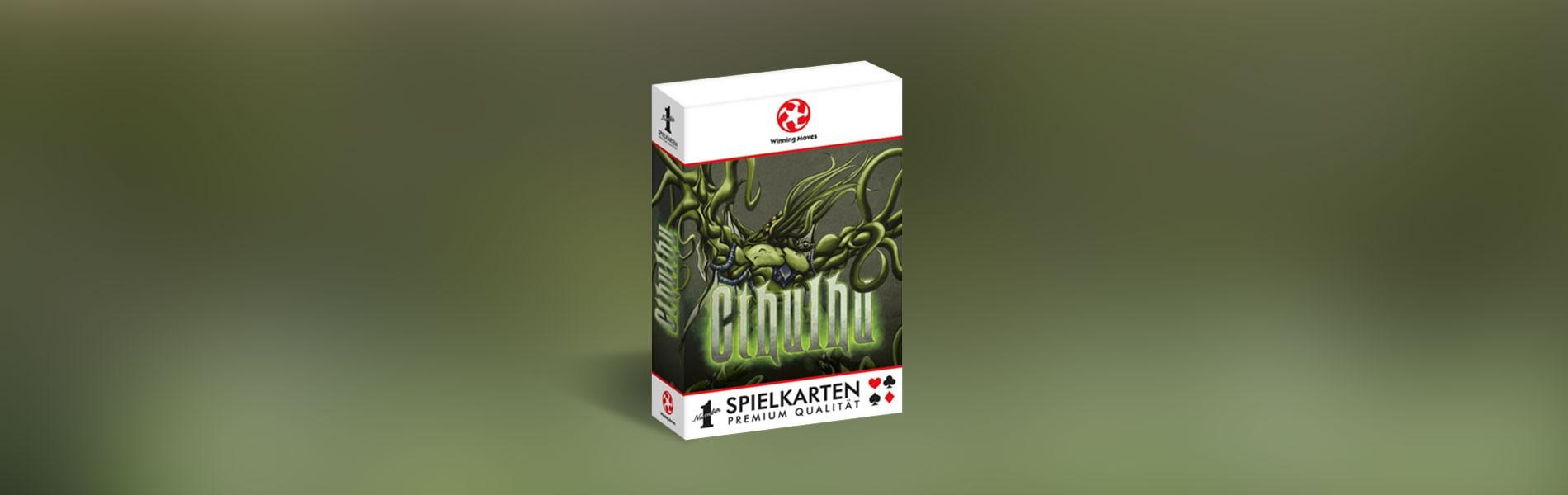 Number 1 Spielkarten Cthulhu