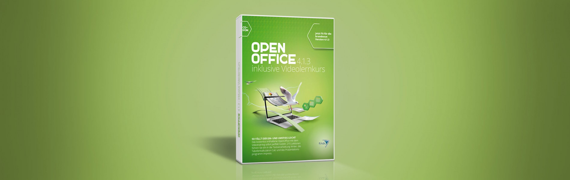 Open Office 4.1.3 inklusive Videolernkurs